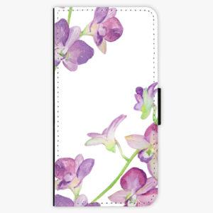 Flipové pouzdro iSaprio - Purple Orchid - Huawei Y6 Prime 2018