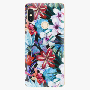 Plastový kryt iSaprio - Tropical Flowers 05 - Xiaomi Redmi Note 5