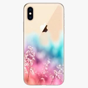 Plastový kryt iSaprio - Rainbow Grass - iPhone XS