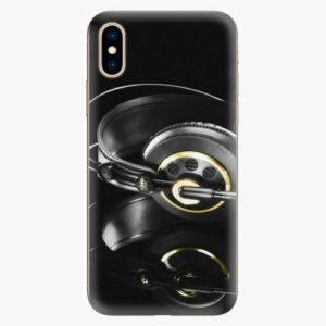 Plastový kryt iSaprio - Headphones 02 - iPhone XS