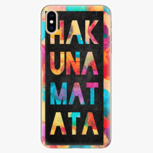 Plastový kryt iSaprio - Hakuna Matata 01 - iPhone XS Max