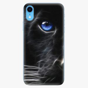 Plastový kryt iSaprio - Black Puma - iPhone XR
