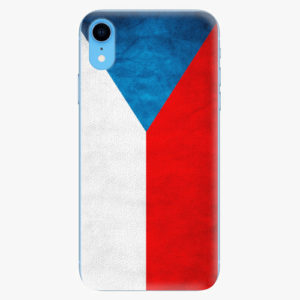 Plastový kryt iSaprio - Czech Flag - iPhone XR