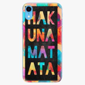 Plastový kryt iSaprio - Hakuna Matata 01 - iPhone XR