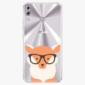 Plastový kryt iSaprio - Orange Fox - Asus ZenFone 5Z ZS620KL