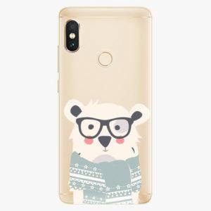 Plastový kryt iSaprio - Bear with Scarf - Xiaomi Redmi Note 5