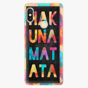 Plastový kryt iSaprio - Hakuna Matata 01 - Xiaomi Redmi Note 5