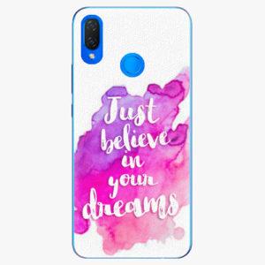 Plastový kryt iSaprio - Believe - Huawei Nova 3i