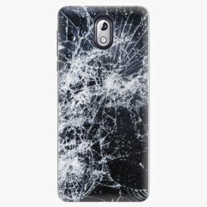 Plastový kryt iSaprio - Cracked - Nokia 3.1