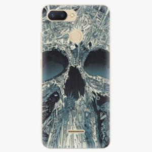 Plastový kryt iSaprio - Abstract Skull - Xiaomi Redmi 6