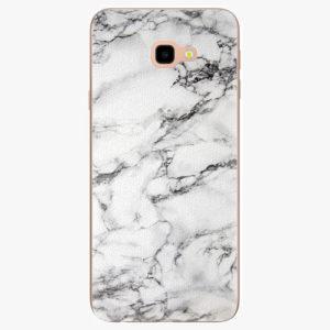 Plastový kryt iSaprio - White Marble 01 - Samsung Galaxy J4+