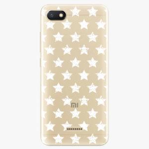 Plastový kryt iSaprio - Stars Pattern - white - Xiaomi Redmi 6A