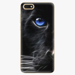 Plastový kryt iSaprio - Black Puma - Huawei Honor 7S