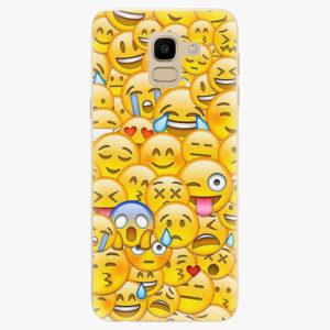 Plastový kryt iSaprio - Emoji - Samsung Galaxy J6
