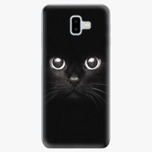 Plastový kryt iSaprio - Black Cat - Samsung Galaxy J6+