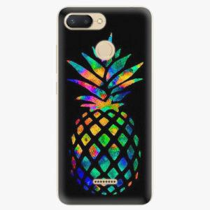 Plastový kryt iSaprio - Rainbow Pineapple - Xiaomi Redmi 6