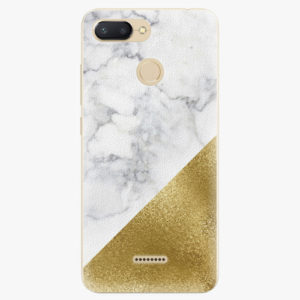 Plastový kryt iSaprio - Gold and WH Marble - Xiaomi Redmi 6