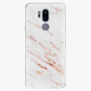 Plastový kryt iSaprio - Rose Gold Marble - LG G7
