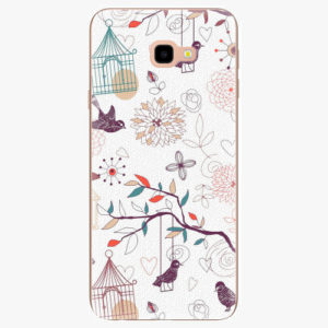 Plastový kryt iSaprio - Birds - Samsung Galaxy J4+