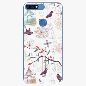 Plastový kryt iSaprio - Birds - Huawei Honor 7C