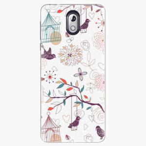 Plastový kryt iSaprio - Birds - Nokia 3.1