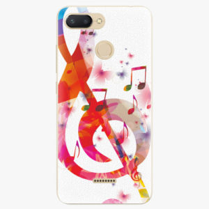 Plastový kryt iSaprio - Love Music - Xiaomi Redmi 6