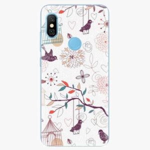 Plastový kryt iSaprio - Birds - Xiaomi Redmi Note 6 Pro