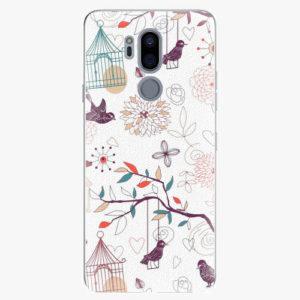 Plastový kryt iSaprio - Birds - LG G7