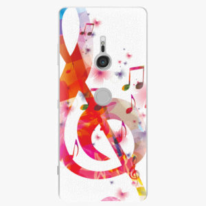 Plastový kryt iSaprio - Love Music - Sony Xperia XZ3