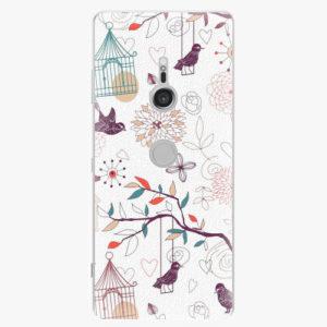 Plastový kryt iSaprio - Birds - Sony Xperia XZ3