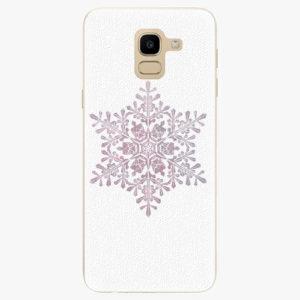 Plastový kryt iSaprio - Snow Flake - Samsung Galaxy J6