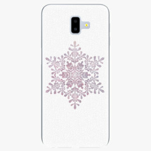 Plastový kryt iSaprio - Snow Flake - Samsung Galaxy J6+