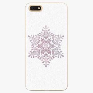 Plastový kryt iSaprio - Snow Flake - Huawei Honor 7S