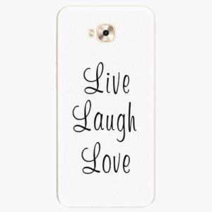 Plastový kryt iSaprio - Live Laugh Love - Asus ZenFone 4 Selfie ZD553KL