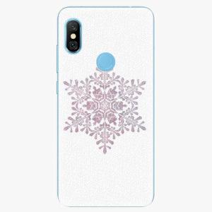 Plastový kryt iSaprio - Snow Flake - Xiaomi Redmi Note 6 Pro