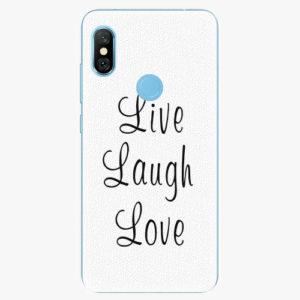 Plastový kryt iSaprio - Live Laugh Love - Xiaomi Redmi Note 6 Pro