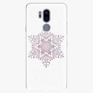 Plastový kryt iSaprio - Snow Flake - LG G7