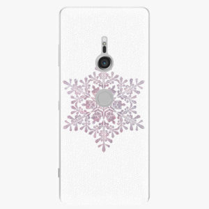 Plastový kryt iSaprio - Snow Flake - Sony Xperia XZ3
