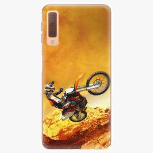 Plastový kryt iSaprio - Motocross - Samsung Galaxy A7 (2018)