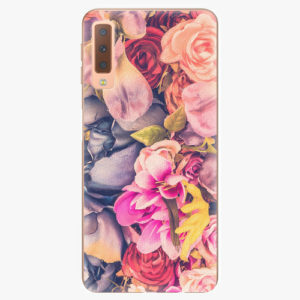 Plastový kryt iSaprio - Beauty Flowers - Samsung Galaxy A7 (2018)