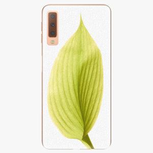 Plastový kryt iSaprio - Green Leaf - Samsung Galaxy A7 (2018)