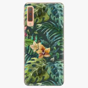 Plastový kryt iSaprio - Tropical Green 02 - Samsung Galaxy A7 (2018)
