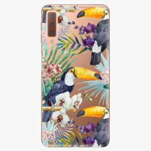 Plastový kryt iSaprio - Tucan Pattern 01 - Samsung Galaxy A7 (2018)