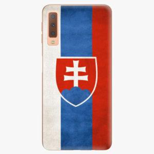 Plastový kryt iSaprio - Slovakia Flag - Samsung Galaxy A7 (2018)