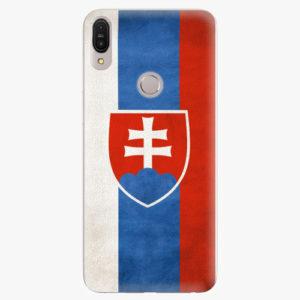 Plastový kryt iSaprio - Slovakia Flag - Asus Zenfone Max Pro ZB602KL