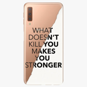Plastový kryt iSaprio - Makes You Stronger - Samsung Galaxy A7 (2018)