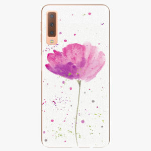 Plastový kryt iSaprio - Poppies - Samsung Galaxy A7 (2018)