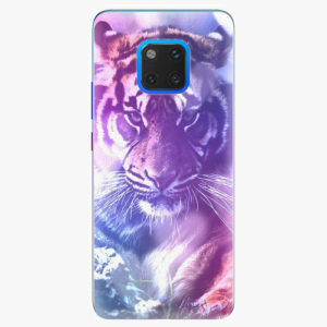 Plastový kryt iSaprio - Purple Tiger - Huawei Mate 20 Pro