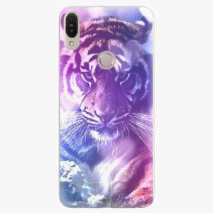 Plastový kryt iSaprio - Purple Tiger - Asus Zenfone Max Pro ZB602KL