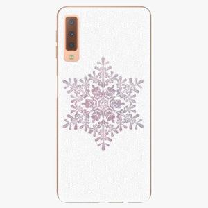 Plastový kryt iSaprio - Snow Flake - Samsung Galaxy A7 (2018)